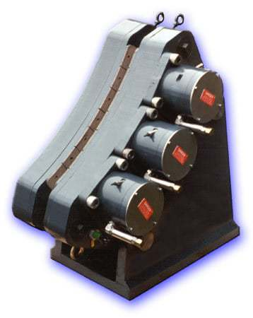 Self contained actuators   Individual actuators are field replaceable, provide brake force adjustment, and include spring caging feature