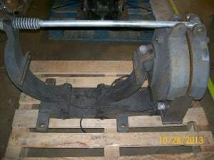 Cutler Hammer Brake Before Kor-Pak Recondition