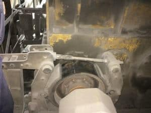 Thruster drum brake in melt shop: enduring high heat and dusty envronment