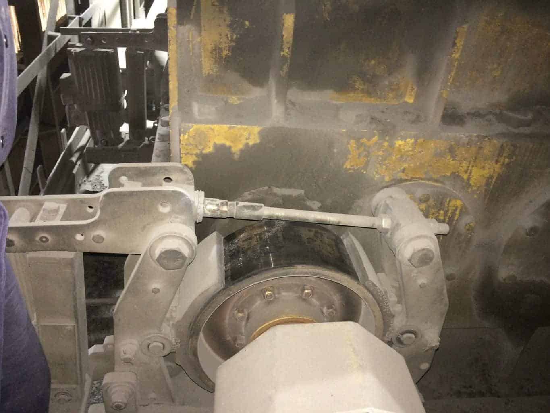 Thruster Drum Brake in Melt