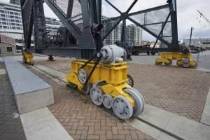 Crane Drive and Idler Wheels