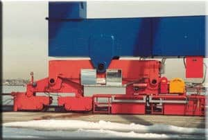 Wheel Brake on Container Crane