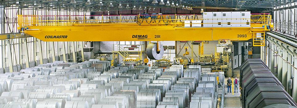 Demag Coil Handling Cranes