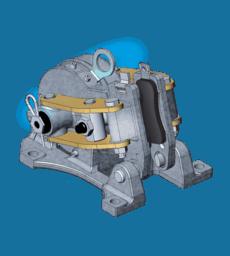 electromagnetic-caliper-brake