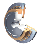 single-disc clutches manufactured by GKN Stromag