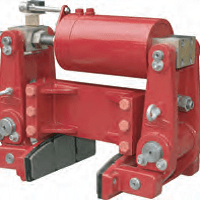 Crane Wheel Clamp