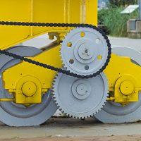 Indsutrial Crane Wheels in use