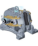 GKN Electric Brake Caliper