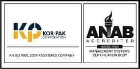 Kor-Pak ISO Certified