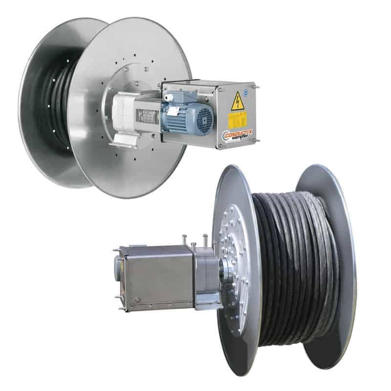 Motor driven compact reels