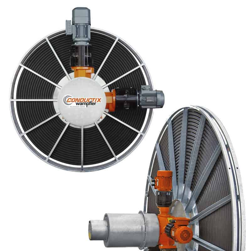 Conductix  heavy load motor drive reel