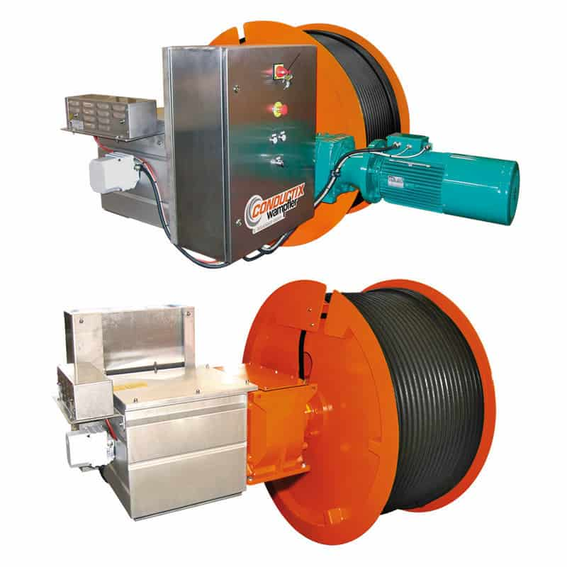 Conductix High Dynamic Series motor drive reels