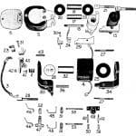 D.C. MAGNETIC CONTACTOR FORM 300-4RD
