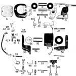 D.C. MAGNETIC CONTACTOR FORM 400-4RD
