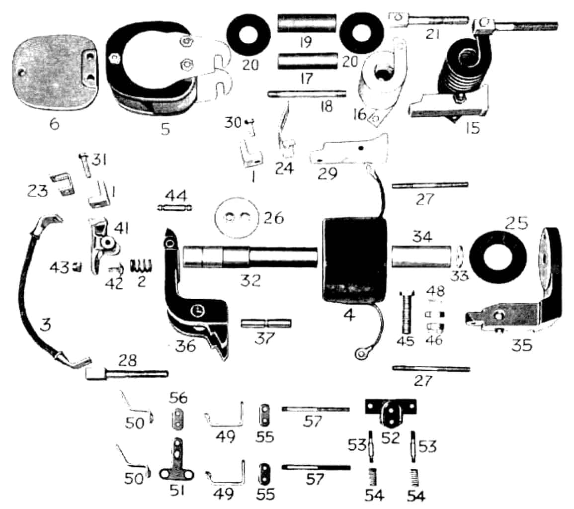 D.C. MAGNETIC CONTACTOR FORM 400-4RT