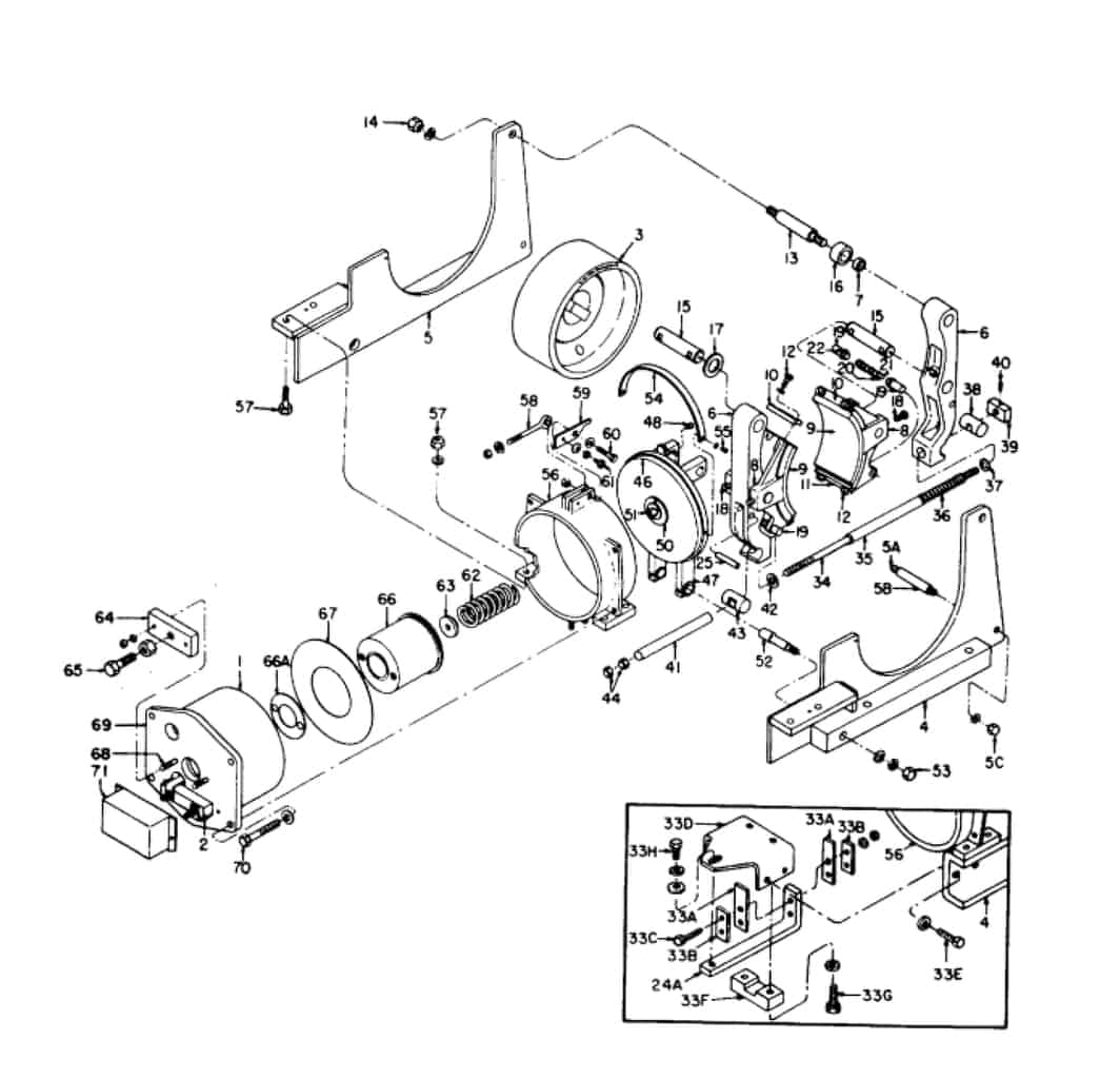 IC9528 A101 10 GE Brake
