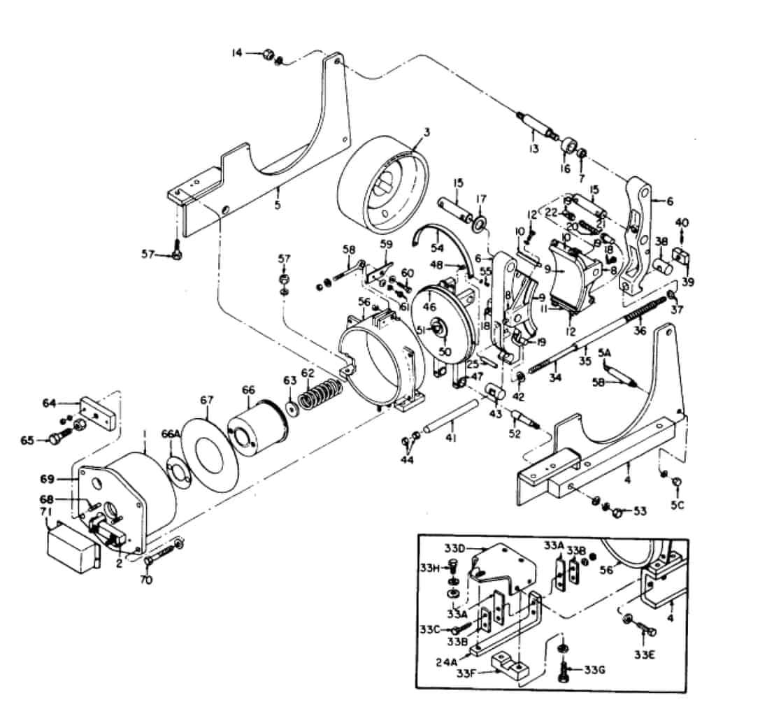 IC9528 A102 13 GE Brake