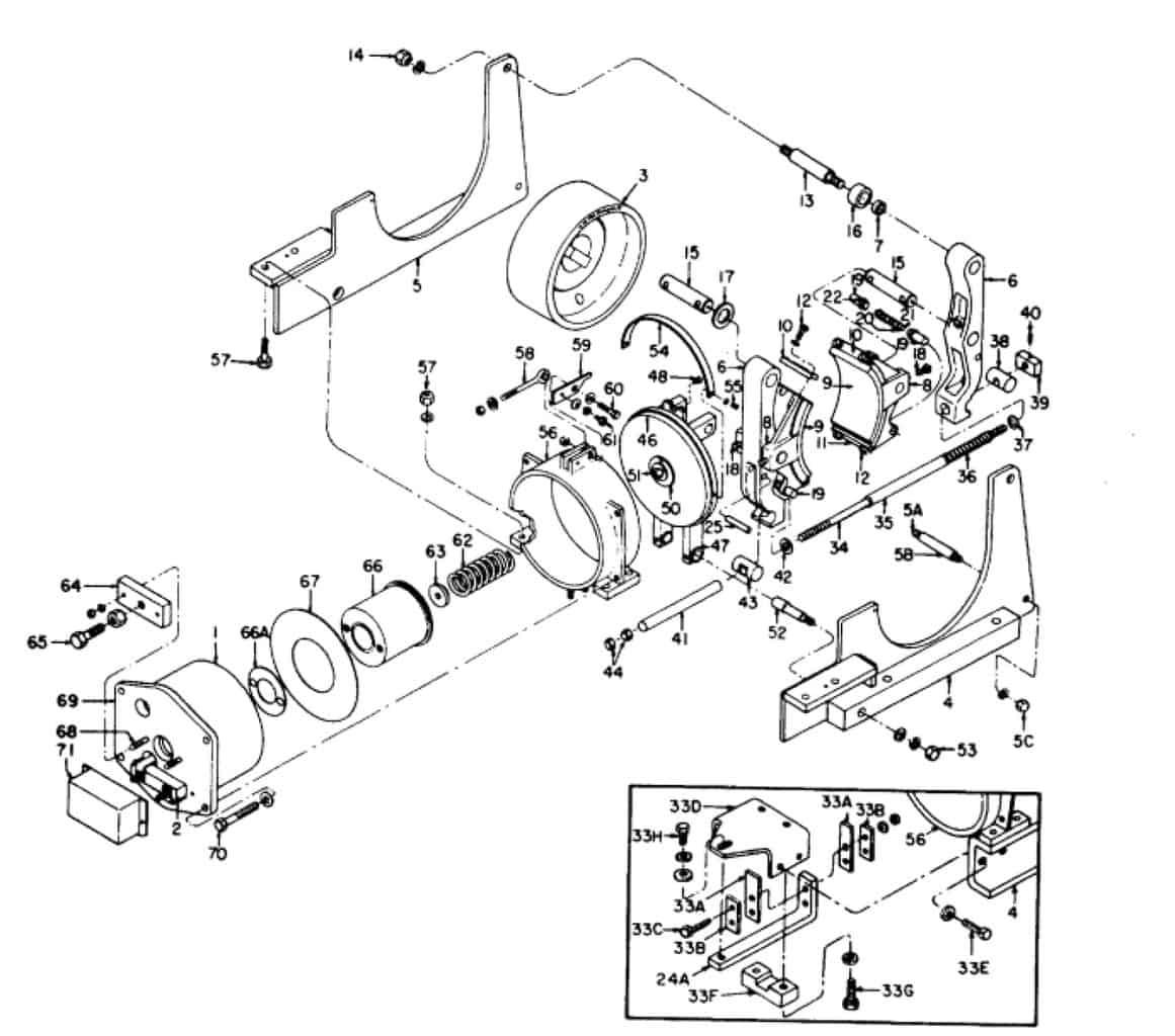 IC9528 A103 16 GE Brake