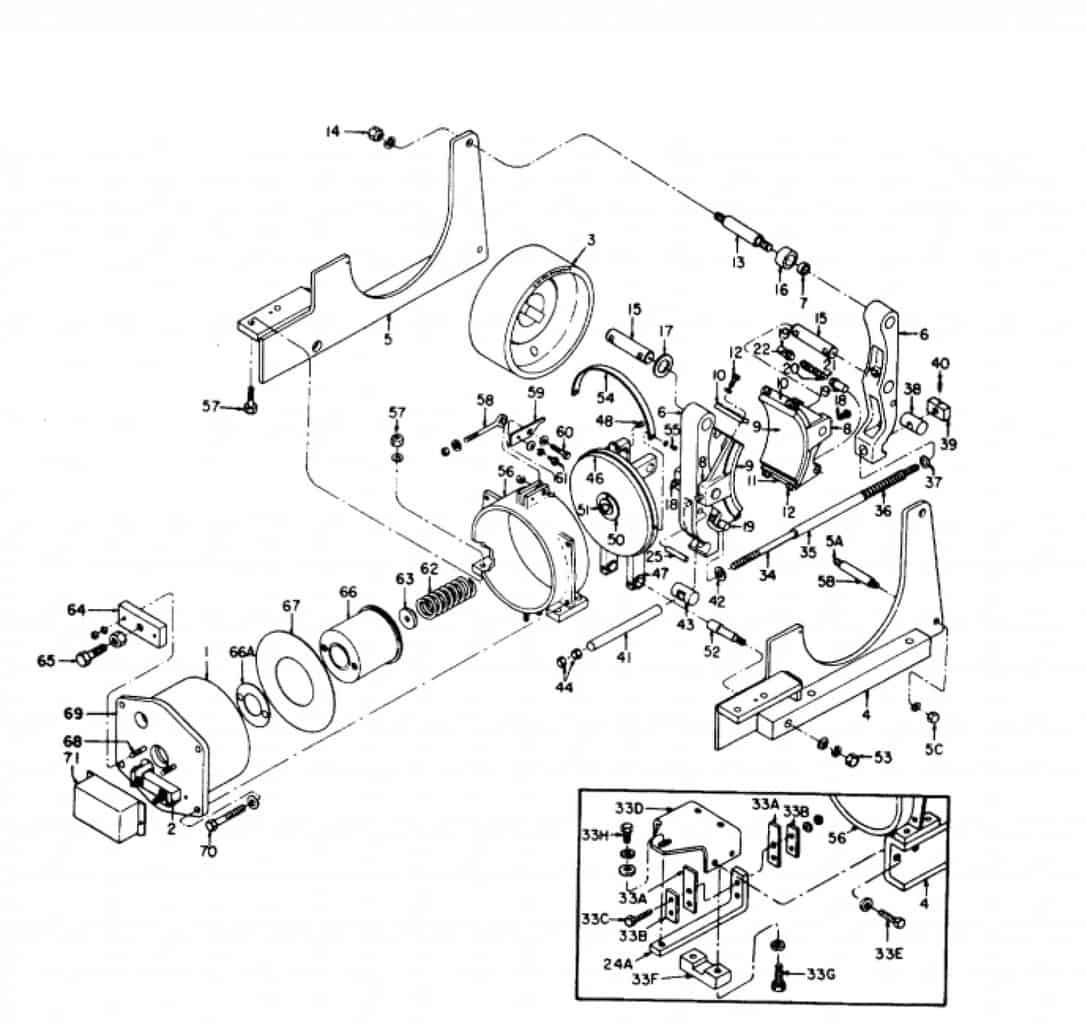 IC9528 A104 19 GE Brake