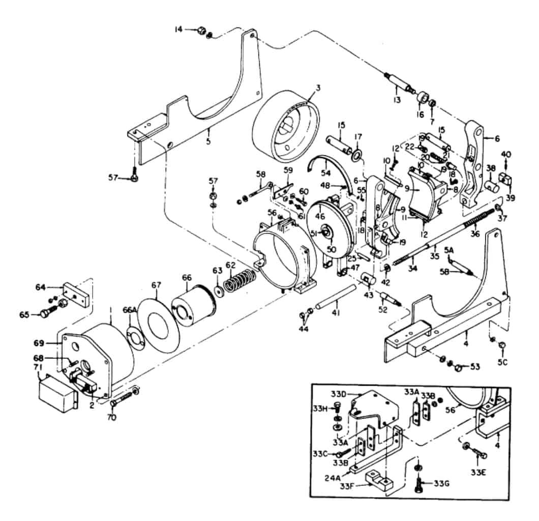 IC9528 A105 23 GE Brake