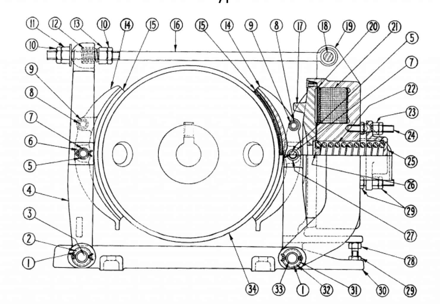 No. 503 10 Type M Brake