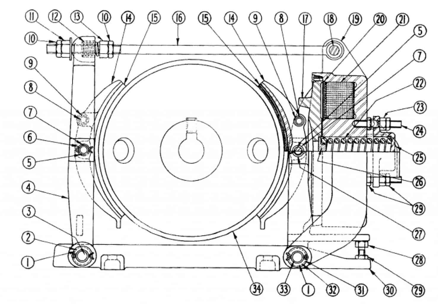 No. 503 18 Type M Brake