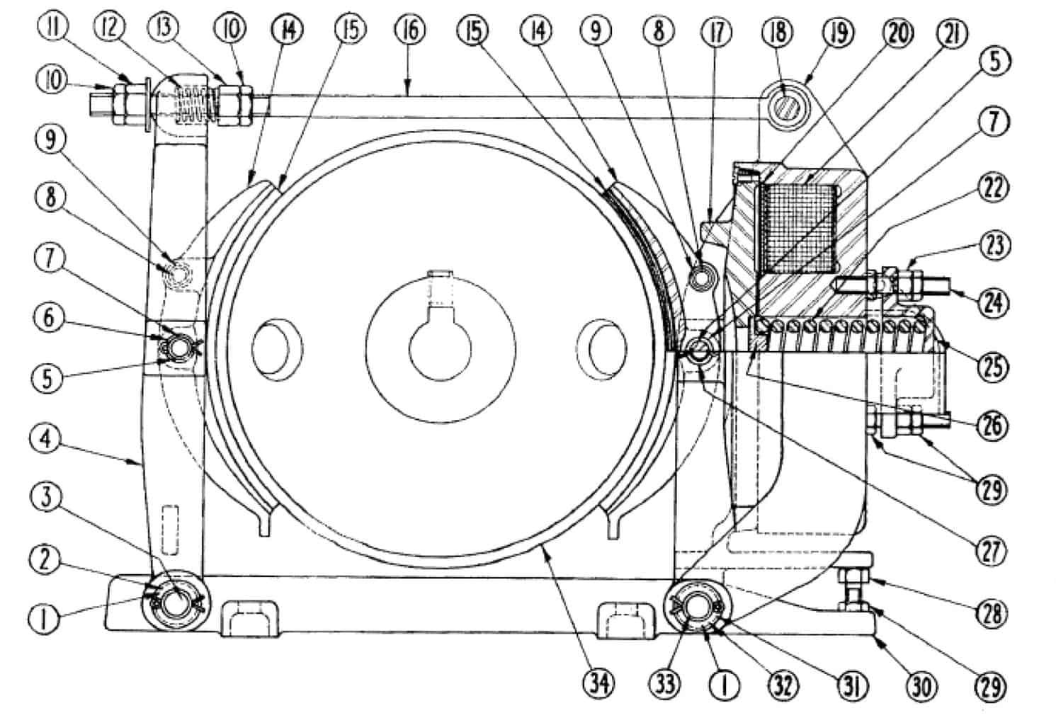 No. 503 24 Type M Brake