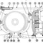 No. 505 13 D-C Magnetic Brake