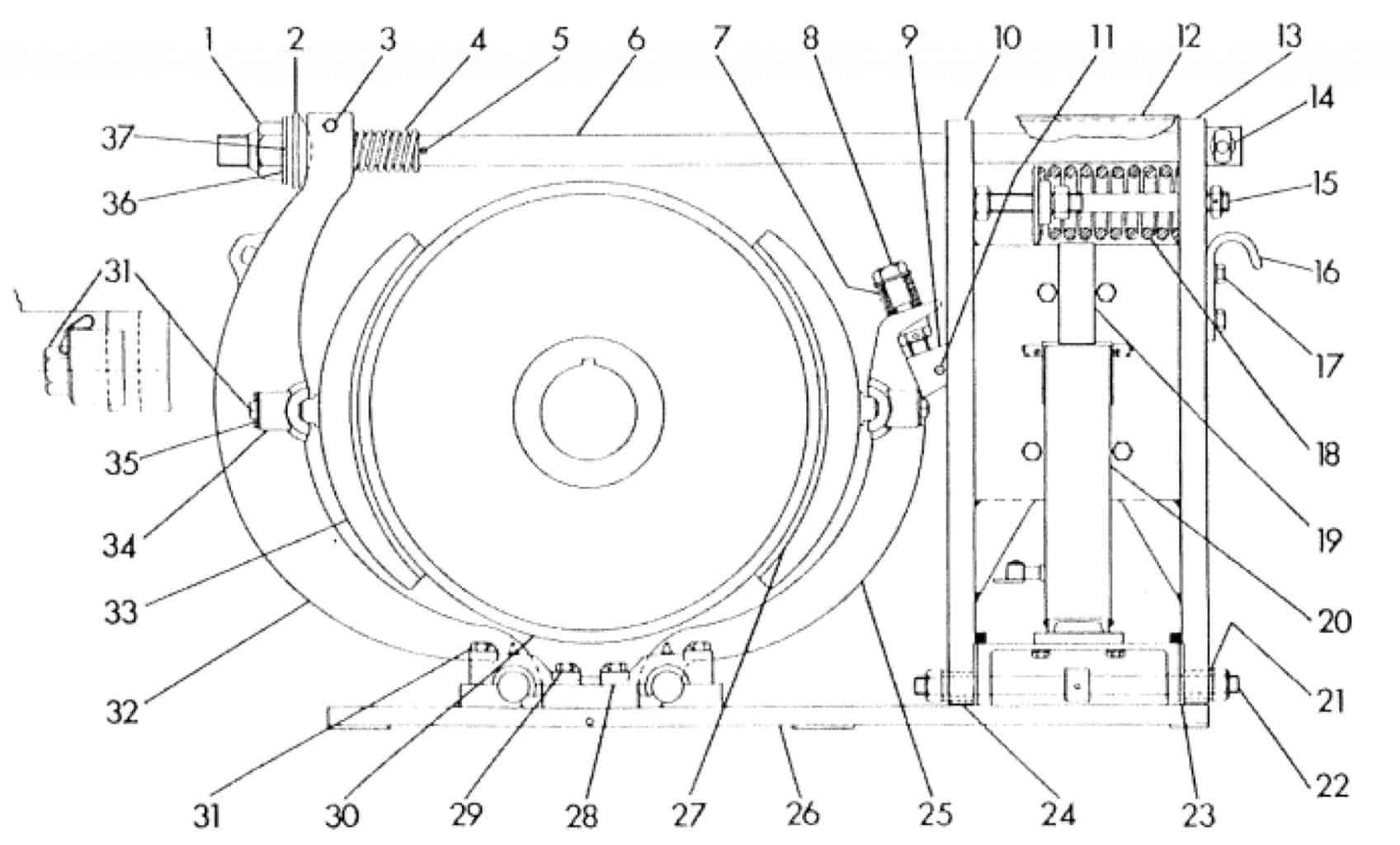 No. 505 30 D-C Magnetic Brake