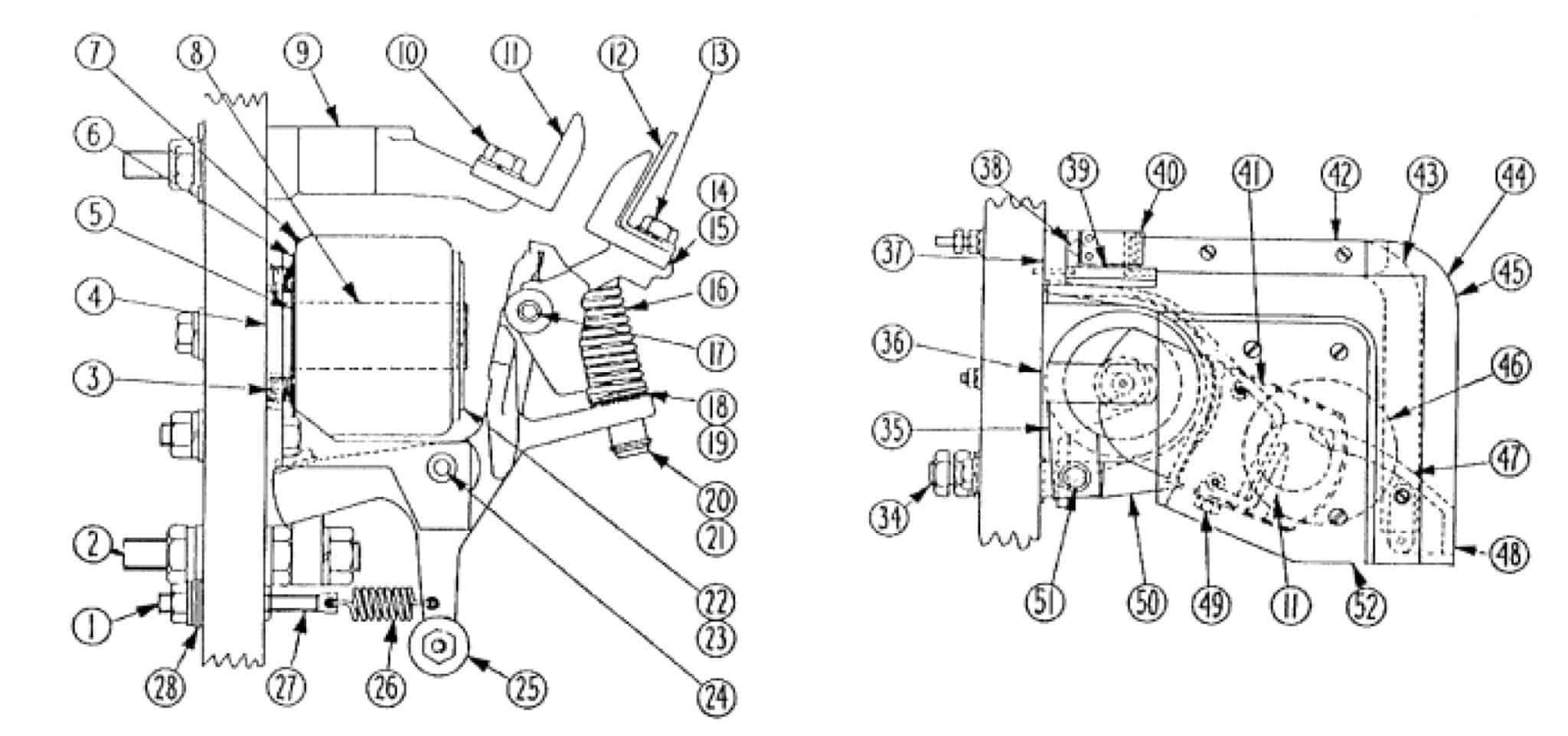 No. 542 300 Amp D-C Contactor