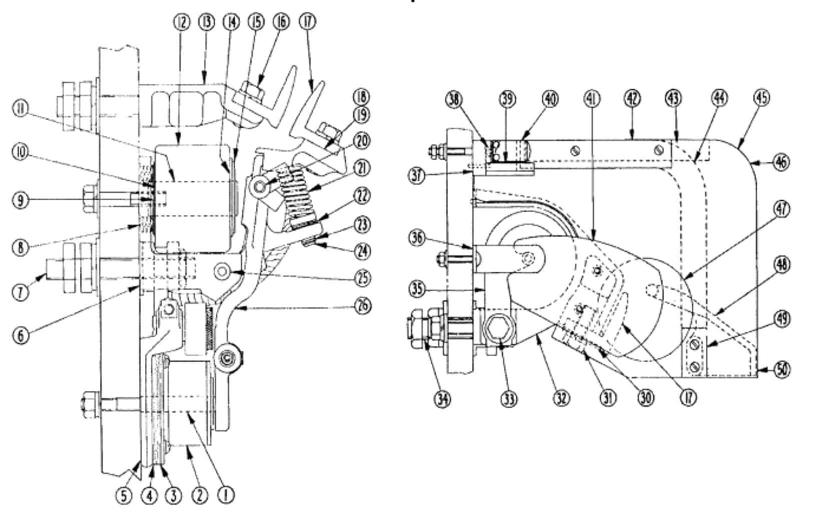No. 575 600 Amp D-C Contactor