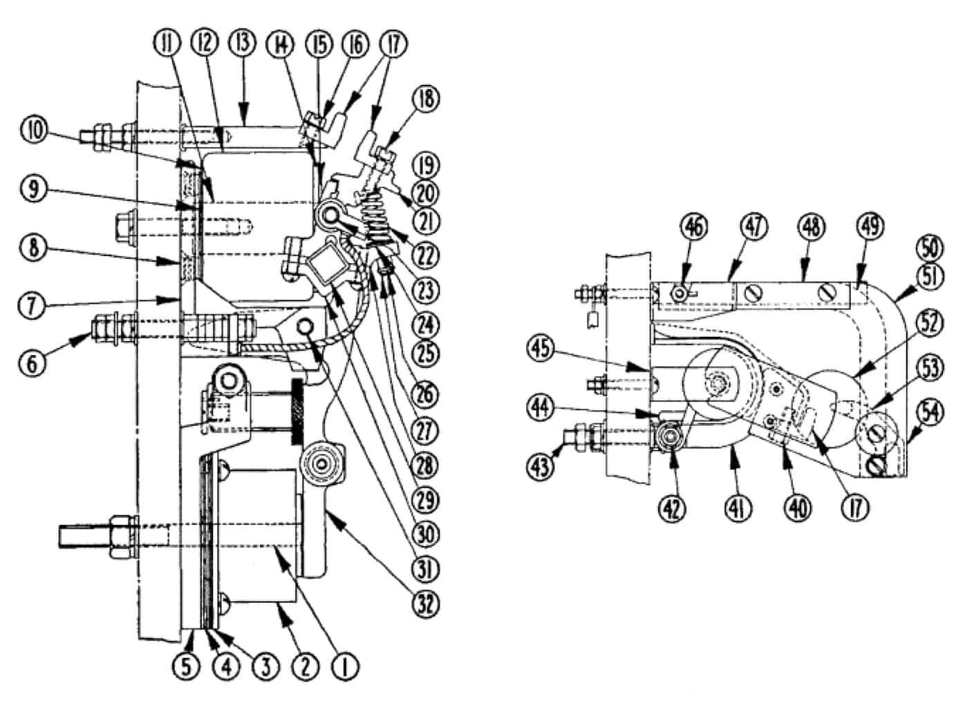 No. 580 100 Amp Double Pole D-C Contactor