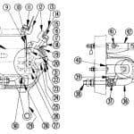 No. 590 100 Amp Double Pole D-C Contactor