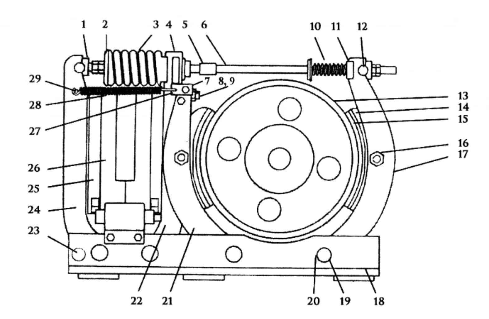 TYPE TM-83 MAGNETIC SHOE BRAKE